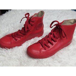 Converse Chuck Taylor Rubber Red Men 5 women 7